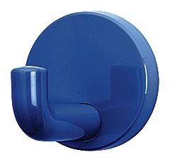 HEWI 801.90.010 Garderobenhaken aus Polyamid 30 mm 50 stahlblau