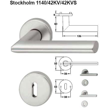 stockholm 1140 42kv 42kvs baufachhandel streich hoppe stockholm 1140 42kv 42kvs pz rosetten. Black Bedroom Furniture Sets. Home Design Ideas