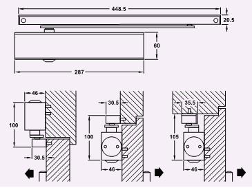 geze ts 5000 l en 2 6 baufachhandel streich obenliegender basis t rschlie er geze ts 5000l. Black Bedroom Furniture Sets. Home Design Ideas