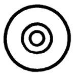 HEWI 548.02 Gegenscheibe für Möbelgriffe